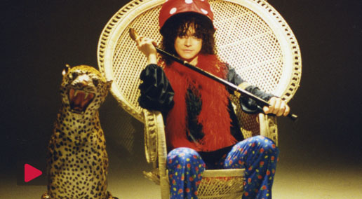 T-REXTASY (Marc Bolan) 'Baby factory': Filmed at Broadley Studios, 43 Broadley Terrace, London, MW1 6UL